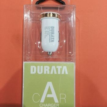 CHARGEUR VOITURE DURATA 2.1A